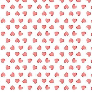 hearts white field