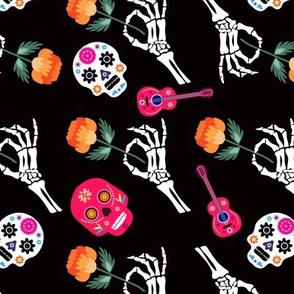 Skull pattern 51