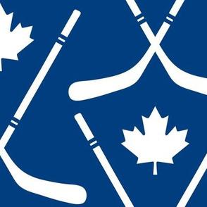 maple leafs toronto hockey sticks lg blue