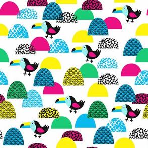 toucan pattern
