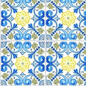 Symmetrical Spanish Tiles