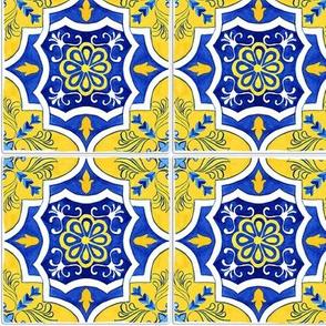 Elegant Yellow Tiles