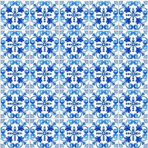 Blue Realistic Azulejos Tiles