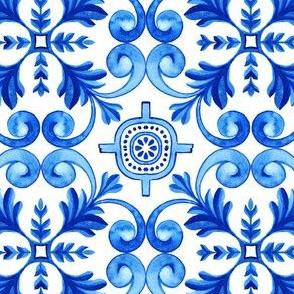 Total Blue Azulejos Tile