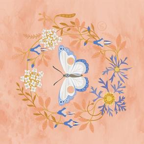 Winter Moth - Tea Towel Design