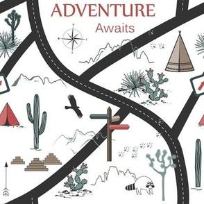 Adventure Seamless Pattern