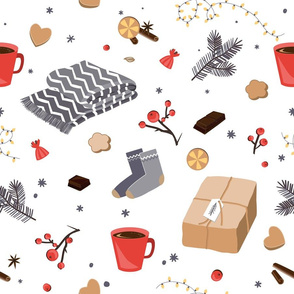 Winter and Christmas items