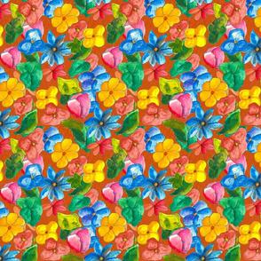 Colorpop Floral pattern