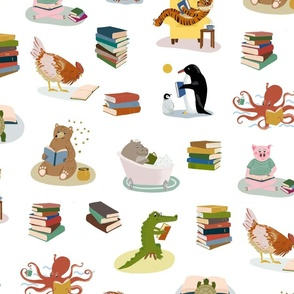Animal Readers WHITE