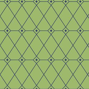 Green rhombus