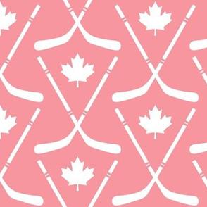 maple leafs toronto hockey sticks med pink