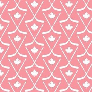 maple leafs toronto hockey sticks sm pink