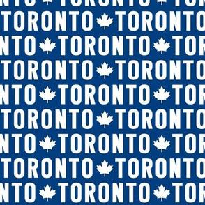 maple leafs toronto hockey uppercase blue