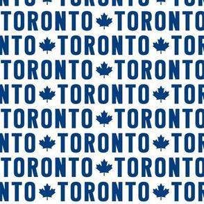 maple leafs toronto hockey uppercase reversed blue