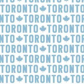 maple leafs toronto hockey uppercase reversed light blue