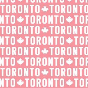 maple leafs toronto hockey uppercase pink