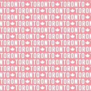 maple leafs toronto hockey uppercase xsm pink