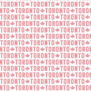 maple leafs toronto hockey uppercase xsm reversed pink