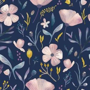 Delicate Pastel Flowers 2