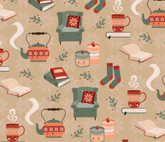 The Cozy Reading by Debora Kosanyi