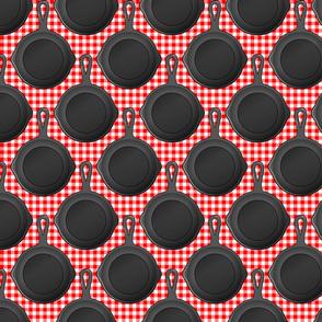 Cast iron red medium