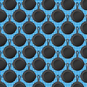 cast iron blue small