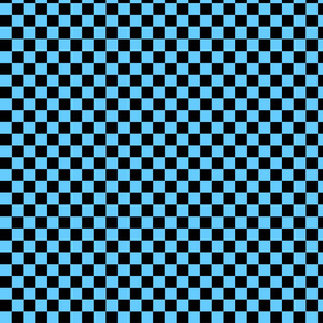 Checkers Med Blue