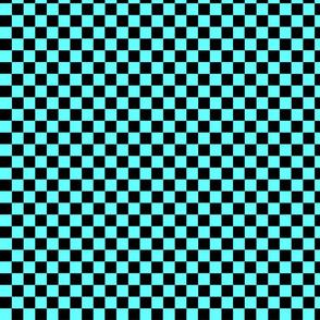 Checkers Blue light