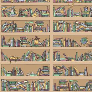 Messy Bookshelves