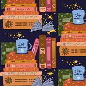 cozy reading at night