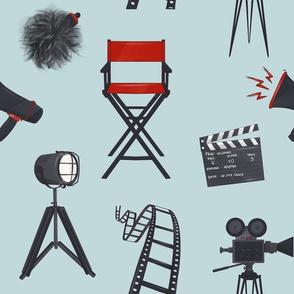 Movie production cinema pattern