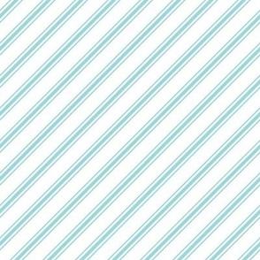 christmas candy cane stripes blue