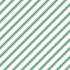 christmas candy cane stripes green