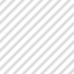 christmas candy cane stripes grey