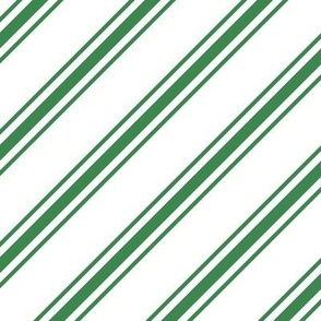 christmas candy cane stripes LG green