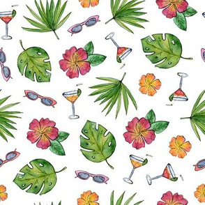 fashion tropical party