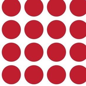christmas polka dots LG red