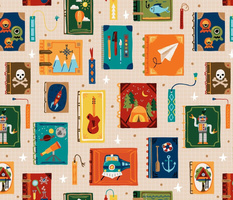 Bookish Adventures for Boys + Girls // © ZirkusDesign // STEM, Space, Robots, Outdoors, Camping, Mountains, Music, Trains, Rockets, Pirates, Art, Nautical Literary Fun