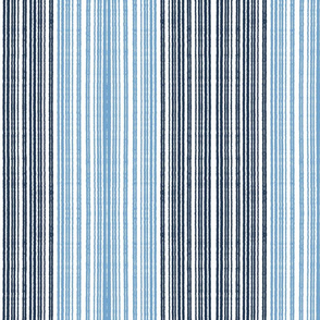 Chambray stripe-large vertical