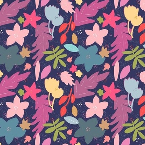 Clover Hearts (Red)