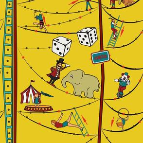 Circus boardgame