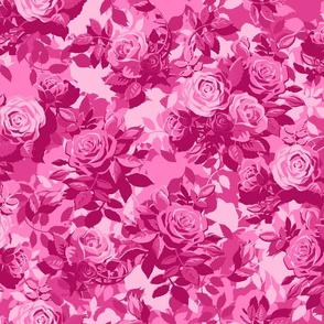 Camo Rose - pink