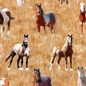 Horses 3 - 12 inch