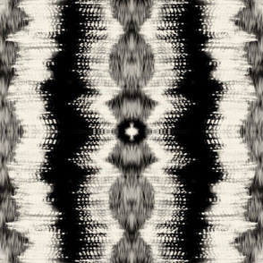 Shibori-Black 1