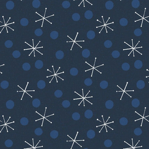 MCM Snow and Dots M+M Navy Black by Friztin