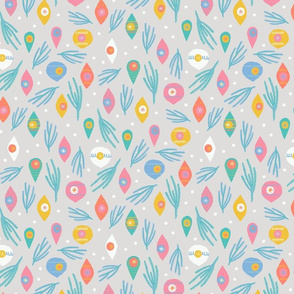 MCM Twigs and Ornaments M+M Cloud by Friztin