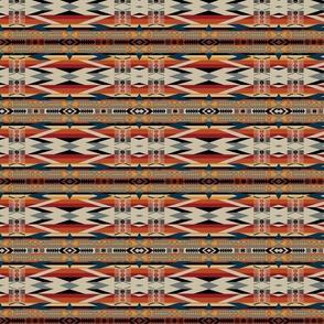 Bold Neo Native American Traditional Tribal Geometric
