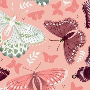 Romantic Butterflies / Tossed