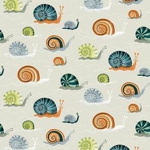 Decorative Snails / Small Scale