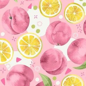 Peach and Lemon